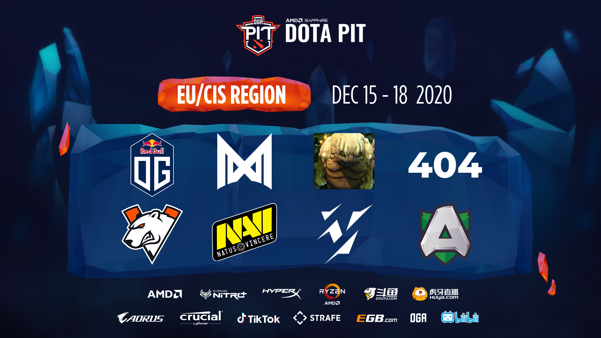 Dota 2 tournament results. OGA Dota PIT Season 4: Europe / CIS
