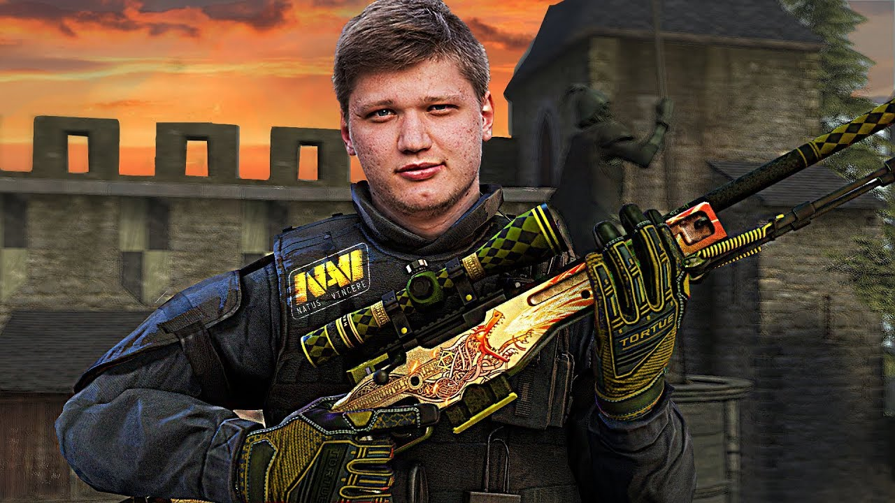 Player Oleksandr Kostyliev (s1mple) in CS: GO