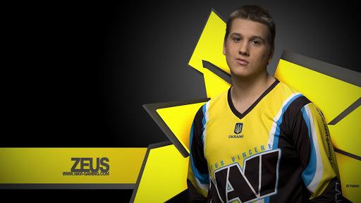 Player Danylo Teslenko (Zeus) in CS: GO