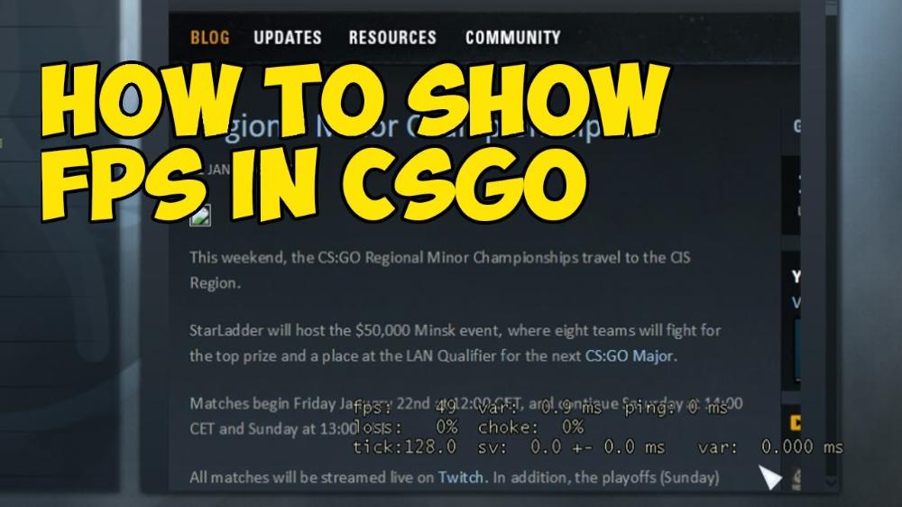 How to show FPS in CS:GO: the best ways