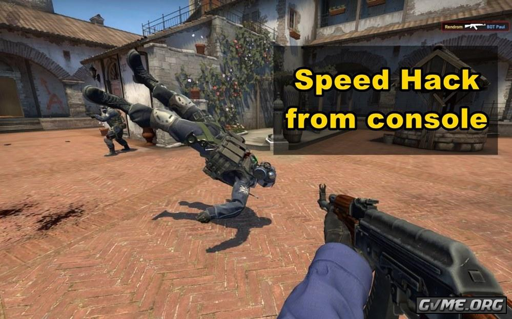 Player speed of movement console command in CS: GO (Counter-Strike: Global Offensive)