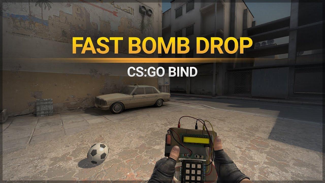 Drop bomb bind in CS:GO (Counter-Strike: Global offensive)