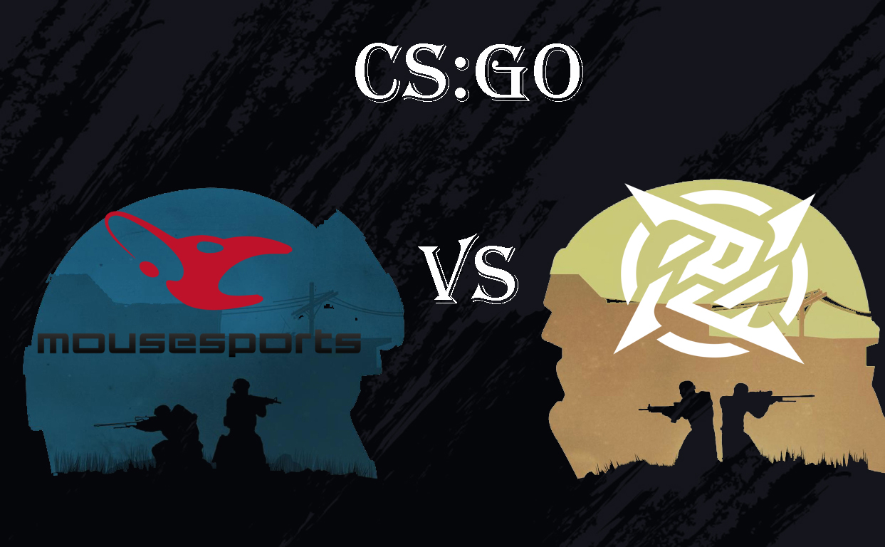 As part of the Playoff stage of the ESL Pro League Season 14 tournament, mousesports and NiP teams will play on September 7