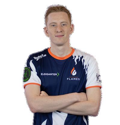 Player Marcus Kjeldsen CSGO