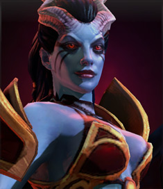 Queen of Pain Heroe Dota 2