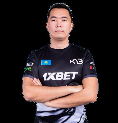 Player Dauren Kystaubayev CSGO