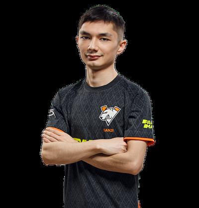 Player Sanjar Kuliev CSGO