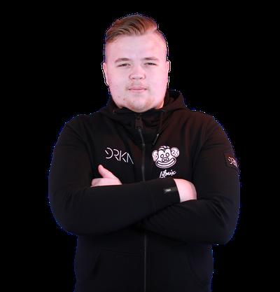 Player Adam Bergqvist CSGO